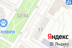 Схема проезда до компании Sick в Москве