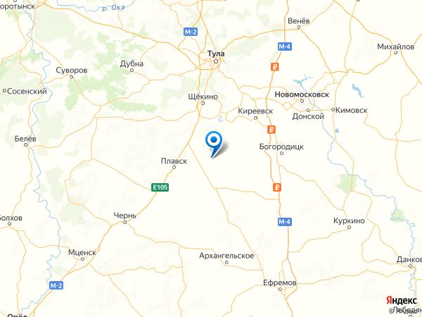 село Царево на карте
