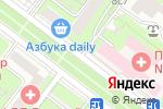 Схема проезда до компании Автоюрист Фрунзенская +7 (499) 288-24-81 в Москве