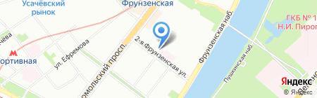Империя Потолков на карте Москвы