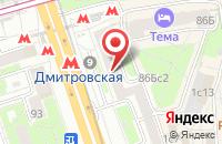 Схема проезда до компании Технолин в Москве