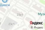 Схема проезда до компании HAYASHI в Москве