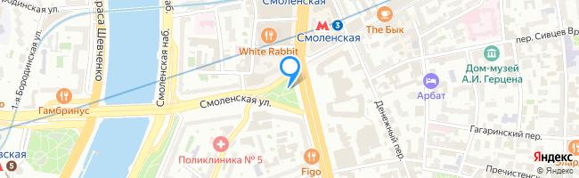 Смоленская-Сенная площадь