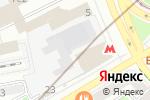Схема проезда до компании Интер аудит сервис в Москве