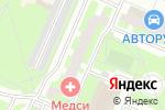 Схема проезда до компании Салон штор в Москве
