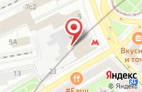 Схема проезда до компании ФинМакс в Москве