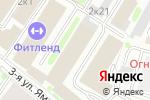 Схема проезда до компании Столичный регистратор в Москве