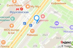 Снять двухкомнатную квартиру в Москве м. Фрунзенская, Комсомольский проспект, 25к1