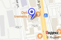 Схема проезда до компании КОСМЕТИЧЕСКАЯ ФАБРИКА РАССВЕТ в Москве