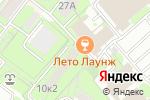 Схема проезда до компании Пси-фактор безопасности в Москве