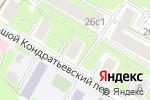 Схема проезда до компании ИЛЬФ в Москве