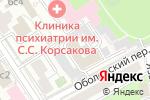 Схема проезда до компании ГРАС-92 в Москве