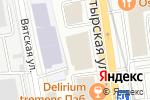 Схема проезда до компании Мияки в Москве