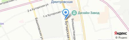Лекс на карте Москвы