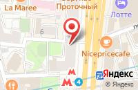 Схема проезда до компании Творческий Центр Юрия Энтина в Москве
