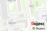 Схема проезда до компании Мосинвест в Москве