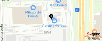 DAcars на карте Москвы