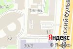 Схема проезда до компании L-GALLERY в Москве