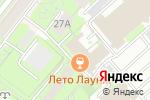 Схема проезда до компании Park MSK в Москве
