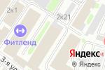 Схема проезда до компании Финторг в Москве