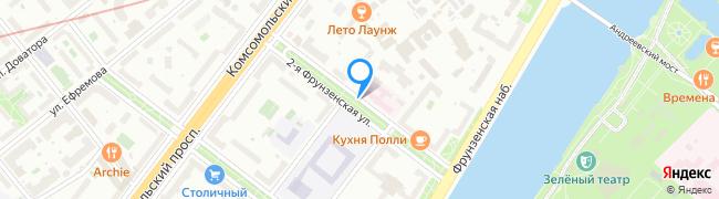 улица Фрунзенская 2-я