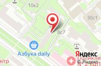 Схема проезда до компании Интервал в Москве