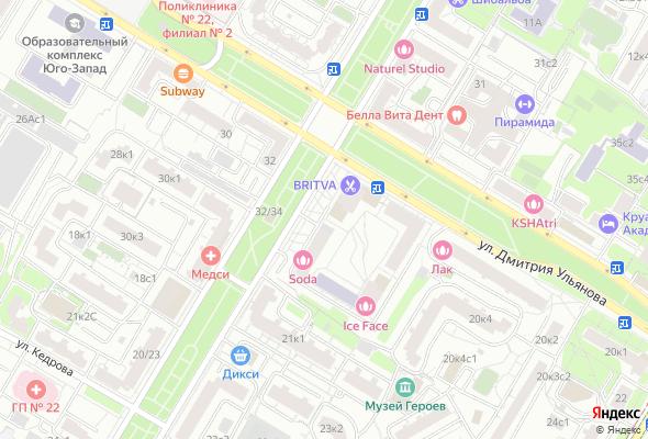 жилой комплекс Новочеремушкинская 17