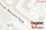 Схема проезда до компании Серв Компания в Москве