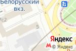 Схема проезда до компании Магазин цветов на площади Тверской Заставы в Москве