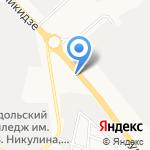 Автощит на карте Подольска