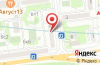 Схема проезда до компании Стройкомплектсервис в Москве