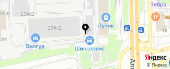 Лазурит-Сервис на карте Москвы