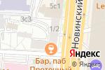 Схема проезда до компании Ломбард на Новинском в Москве