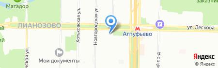 Логос-груз на карте Москвы