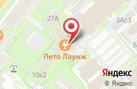 Схема проезда до компании Геррус в Москве