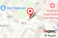 Схема проезда до компании Ипотечное Дело в Москве