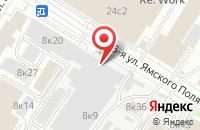 Схема проезда до компании Гео в Москве