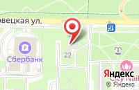 Схема проезда до компании Тв Видео-Дизайн в Москве