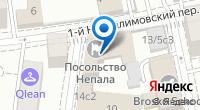 Компания Посольство Непала в г. Москве на карте