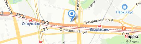 Бета Центр на карте Москвы