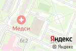 Схема проезда до компании ЕИРЦ района Северное Бутово в Москве