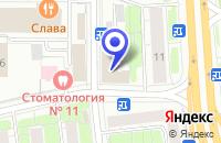 Схема проезда до компании ДЮСШ № 25 в Москве