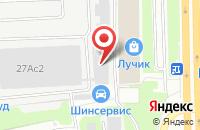 Схема проезда до компании Строительная Техника в Москве