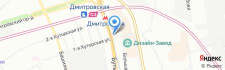Крошка Картошка на карте Москвы