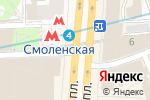 Схема проезда до компании Русникель в Москве