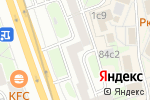 Схема проезда до компании Hockey77 в Москве