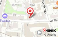 Схема проезда до компании Умик в Москве