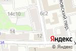 Схема проезда до компании Правовой навигатор в Москве