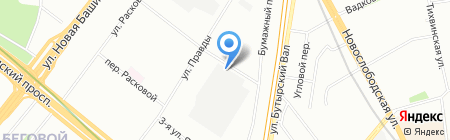 ВизитЦентр на карте Москвы