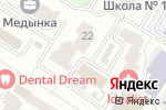 Схема проезда до компании Project42 в Москве